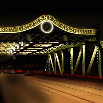 Riverside Bridge Illumination