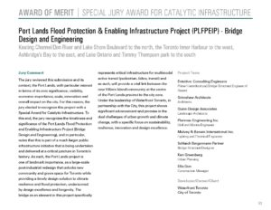 Port Lands Flood Protection & Enabling Infrastructure Project (PLFPEIP) - Bridge Design and Engineering